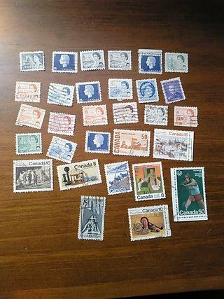 sellos de Canadá