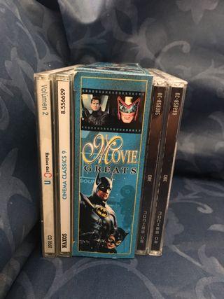 Más 30 CD de Banda sonora peliculas y Broadway