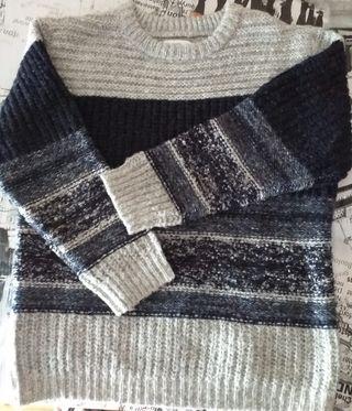Jersey niño de lana talla 8.