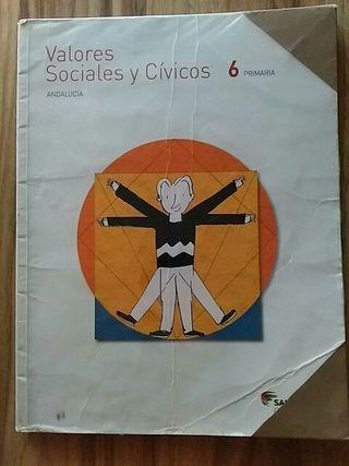 Valores Sociales y Cívicos 6 primaria