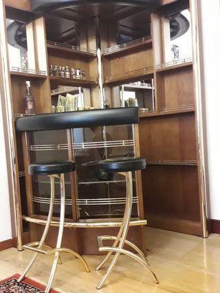 taburetes mueble bar