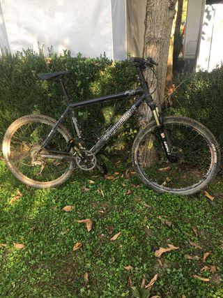 Bicicleta cannonddale f5 talla xl