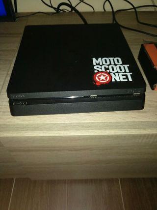 ps4 slim 2 mandos y juegos