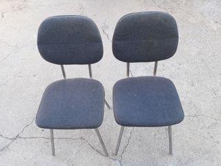 i504 Lote 2 sillas oficina