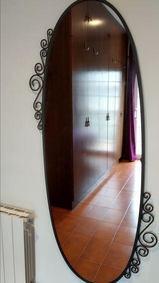 Espejo de cuerpo entero de pared decorativo