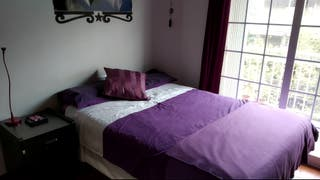Cama, somier y colchón