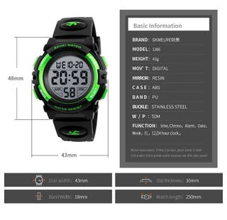 Kids Boys Digital Watch