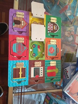 Juego para niños puzzle de madera de eureka kids