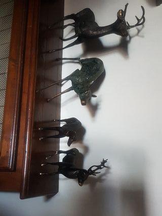 figuras de bronce