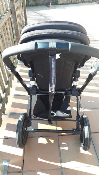 lote bugaboo+parque infantil+silla de paseo maclar