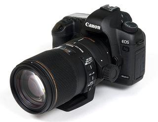 Canon mark II con sigma 150mm 2.8f macro