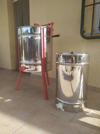 Miel, extractor y madurador