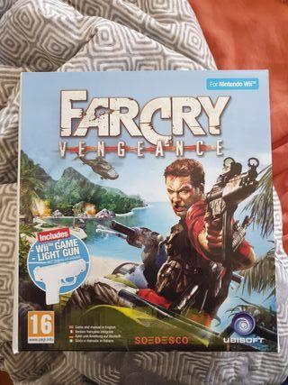 Far Cry Vengeance Wii + Pistola [ SIN JUEGO ]