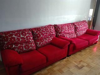 sofas de 3y2 plazas poco uso