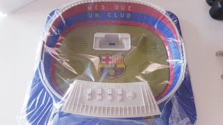 Radio Reloj despertador Barça. Altavoz mp3 mp4.