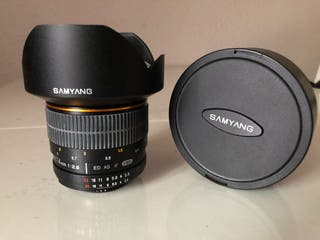 Objetivo Samyang 14mm f/2.8 Nikon