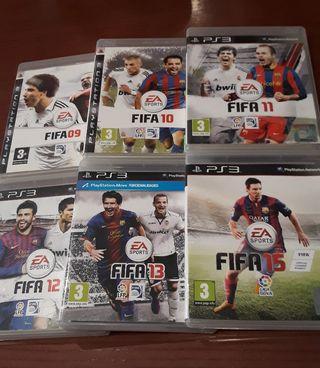 juegos FIFA ps3