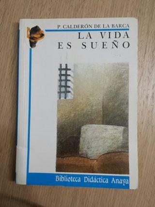 Libro: La vida es sueño. Calderón de la Barca.