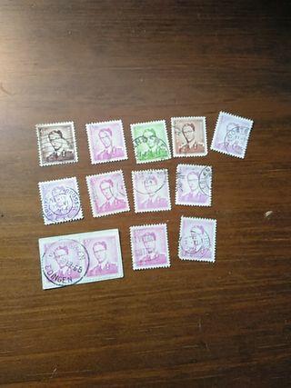sellos de Bélgica