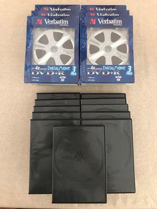 DVD+R Digital Movie + carcasas