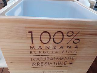 cubitera de madera