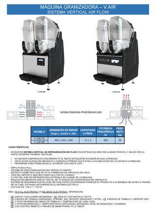 maquina granizadora - v.air