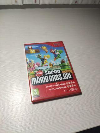 (URGENTE) Juego Wii Mario Bros