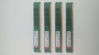Memorias RAM Kingston DDR3 1333mhz