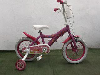 "bicicleta 14"" niña Pin y Pon"