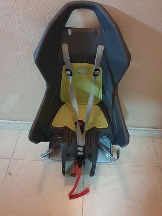Silla portabebes/niño para bicicleta