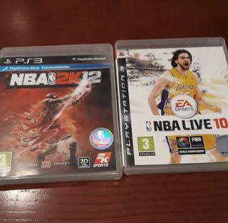 Juegos NBA ps3