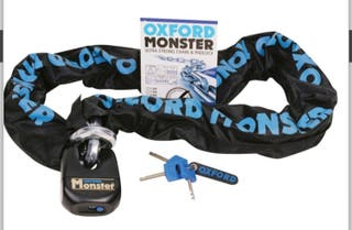 Cadena y candado Oxford Monster 1,5m