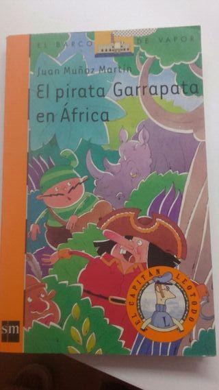 BARCO DE VAPOR.EL PIRATA GARRAPATA EN AFRICA
