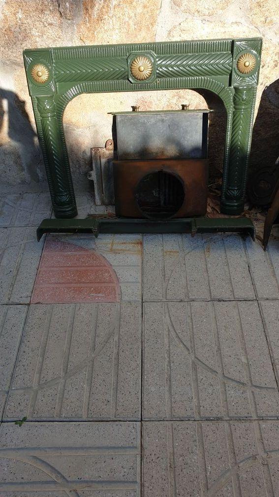 chimenea de fundición