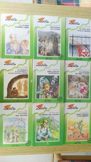 Lote 9 Libros A Partir de once años
