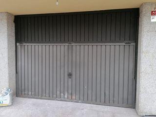 Puerta garaje con motor
