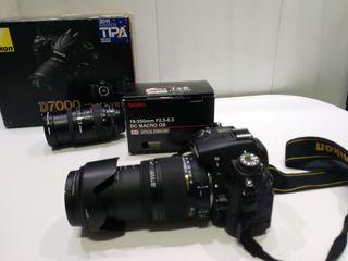 camara de fotos Nikon D7000 +sigma 18-250 f3.5-6.3