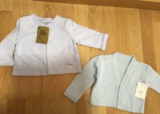 Dos chaquetas bebé nuevas a estrenar