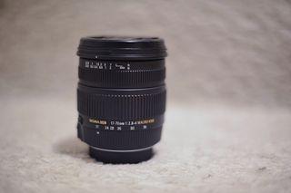 Objetivo Sigma 17-70mm f/2.8-4 macro