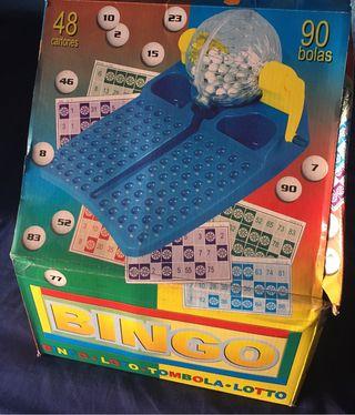 Juego bingo