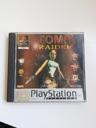 tomb raider ps1