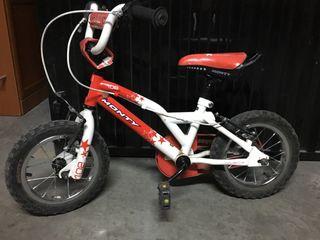 Bicicleta Monty bmx 102 niño