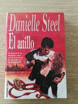 "Libro ""El Anillo"" de Danielle Steel. Romantica"