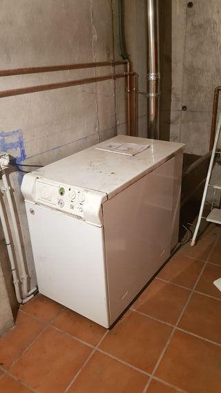 termo 250 litros, depósito gasoil y caldera