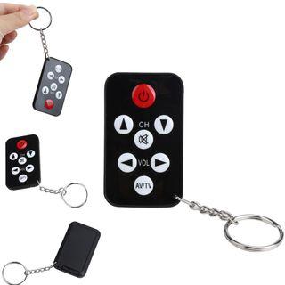 Mini mando a distancia universal con llavero TV