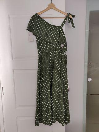 Vestido verde SIN ESTRENAR