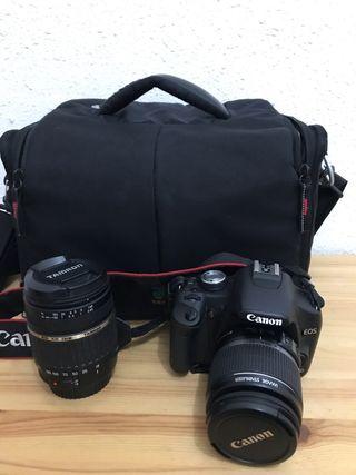 Canon Eos 500d + teleobjetivo