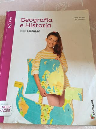 Libro de geografía historia 2 eso santillana