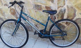 Bicicleta paseo o montaña mujer Marca Boomerang
