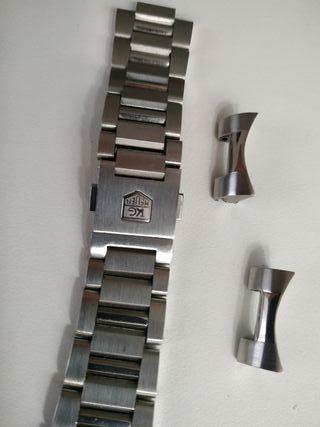 correa reloj armix acero